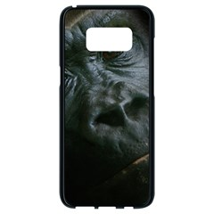 Gorilla Monkey Zoo Animal Samsung Galaxy S8 Black Seamless Case by Nexatart