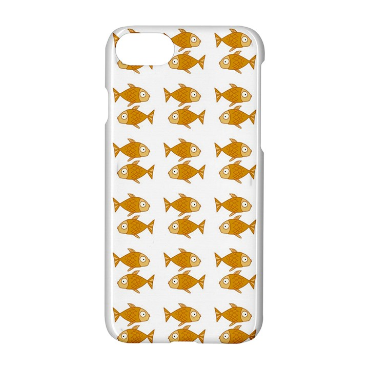 Small Fish Water Orange Apple iPhone 7 Hardshell Case
