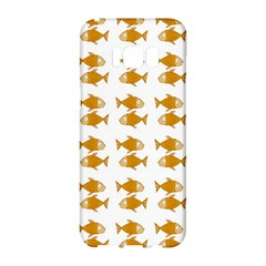 Small Fish Water Orange Samsung Galaxy S8 Hardshell Case  by Alisyart