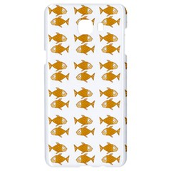 Small Fish Water Orange Samsung C9 Pro Hardshell Case  by Alisyart