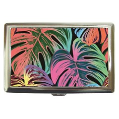 Leaves Tropical Jungle Pattern Cigarette Money Case