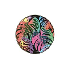 Leaves Tropical Jungle Pattern Hat Clip Ball Marker (10 Pack)