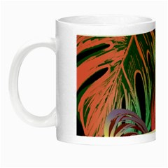 Leaves Tropical Jungle Pattern Night Luminous Mugs