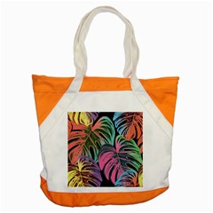 Leaves Tropical Jungle Pattern Accent Tote Bag