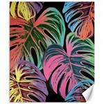 Leaves Tropical Jungle Pattern Canvas 8  x 10  10.02 x8 Canvas - 1