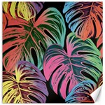 Leaves Tropical Jungle Pattern Canvas 12  x 12  12 x12 Canvas - 1