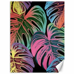 Leaves Tropical Jungle Pattern Canvas 36  X 48