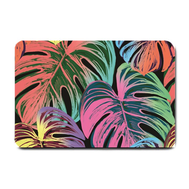 Leaves Tropical Jungle Pattern Small Doormat