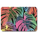 Leaves Tropical Jungle Pattern Large Doormat  30 x20 Door Mat - 1