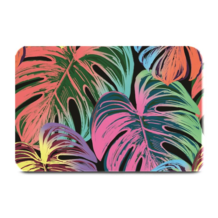 Leaves Tropical Jungle Pattern Plate Mats