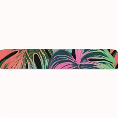 Leaves Tropical Jungle Pattern Small Bar Mats