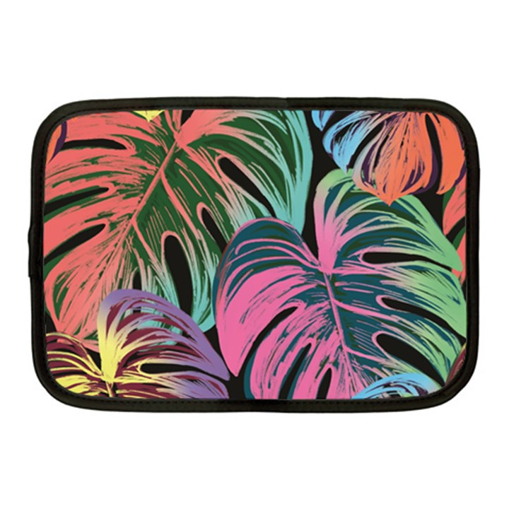 Leaves Tropical Jungle Pattern Netbook Case (Medium)