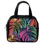 Leaves Tropical Jungle Pattern Classic Handbag (Two Sides) Back