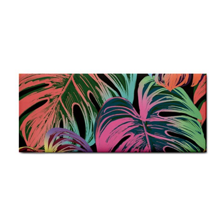 Leaves Tropical Jungle Pattern Hand Towel