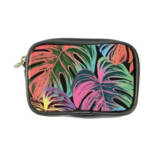 Leaves Tropical Jungle Pattern Coin Purse by Nexatart