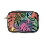 Leaves Tropical Jungle Pattern Coin Purse Front
