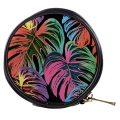 Leaves Tropical Jungle Pattern Mini Makeup Bag