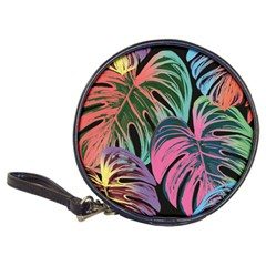 Leaves Tropical Jungle Pattern Classic 20 Cd Wallets