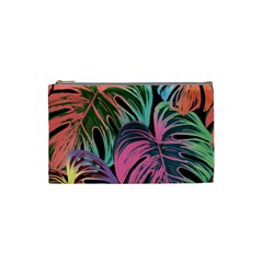 Leaves Tropical Jungle Pattern Cosmetic Bag (small)