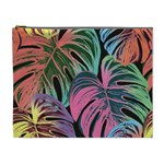 Leaves Tropical Jungle Pattern Cosmetic Bag (XL) Front