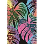 Leaves Tropical Jungle Pattern 5.5  x 8.5  Notebook Back Cover Inside