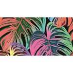 Leaves Tropical Jungle Pattern Magic Photo Cube Long Side 3
