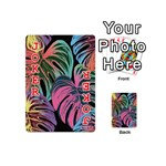 Leaves Tropical Jungle Pattern Playing Cards 54 (Mini) Front - Joker2