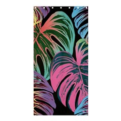 Leaves Tropical Jungle Pattern Shower Curtain 36  X 72  (stall)
