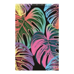 Leaves Tropical Jungle Pattern Shower Curtain 48  X 72  (small)