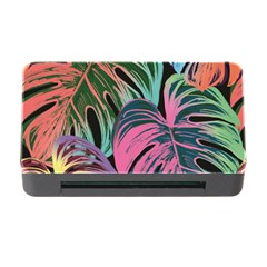 Leaves Tropical Jungle Pattern Memory Card Reader With Cf