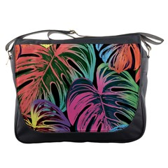 Leaves Tropical Jungle Pattern Messenger Bag