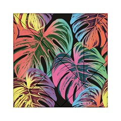 Leaves Tropical Jungle Pattern Acrylic Tangram Puzzle (6  X 6 )