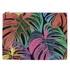 Leaves Tropical Jungle Pattern Cosmetic Bag (xxl)