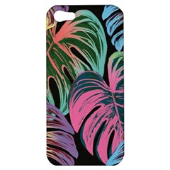 Leaves Tropical Jungle Pattern Apple Iphone 5 Hardshell Case