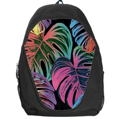 Leaves Tropical Jungle Pattern Backpack Bag