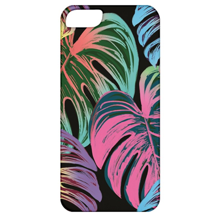 Leaves Tropical Jungle Pattern Apple iPhone 5 Classic Hardshell Case