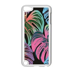 Leaves Tropical Jungle Pattern Apple Ipod Touch 5 Case (white)