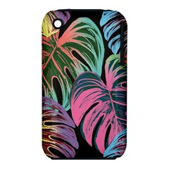 Leaves Tropical Jungle Pattern Iphone 3s/3gs by Nexatart