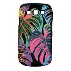 Leaves Tropical Jungle Pattern Samsung Galaxy S Iii Classic Hardshell Case (pc+silicone) by Nexatart