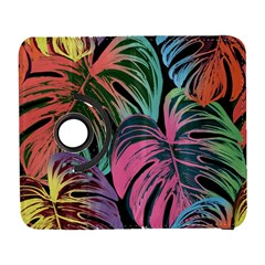 Leaves Tropical Jungle Pattern Samsung Galaxy S  Iii Flip 360 Case by Nexatart