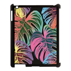 Leaves Tropical Jungle Pattern Apple Ipad 3/4 Case (black)