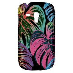 Leaves Tropical Jungle Pattern Samsung Galaxy S3 Mini I8190 Hardshell Case by Nexatart