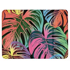 Leaves Tropical Jungle Pattern Samsung Galaxy Tab 7  P1000 Flip Case