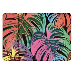Leaves Tropical Jungle Pattern Samsung Galaxy Tab 8 9  P7300 Flip Case