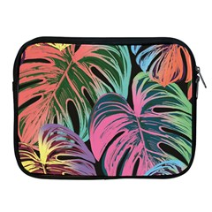 Leaves Tropical Jungle Pattern Apple Ipad 2/3/4 Zipper Cases