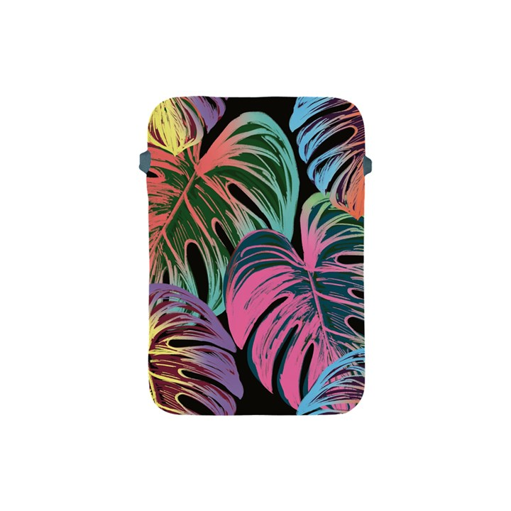 Leaves Tropical Jungle Pattern Apple iPad Mini Protective Soft Cases