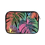Leaves Tropical Jungle Pattern Apple iPad Mini Zipper Cases Front
