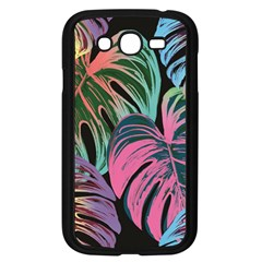Leaves Tropical Jungle Pattern Samsung Galaxy Grand Duos I9082 Case (black)