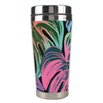 Leaves Tropical Jungle Pattern Stainless Steel Travel Tumblers Center