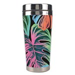 Leaves Tropical Jungle Pattern Stainless Steel Travel Tumblers Right